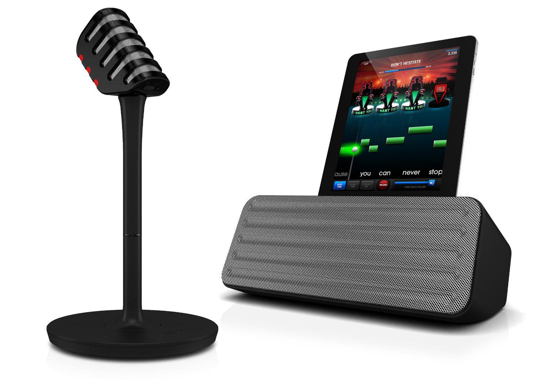 Station d'accueil Bluetooth Philips AEA7000/10 + Micro sans fil pour iPad avec application The Voice