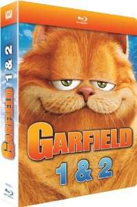 Coffret 2 Blu-rays Garfield 1 & 2
