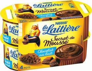 2 packs Secrets de Mousse de La Laitière
