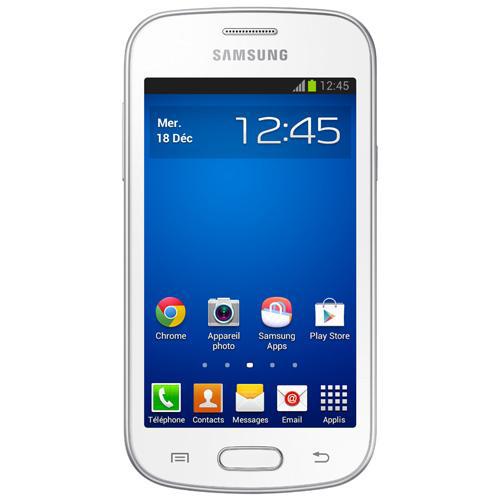 """Smartphone 4"""" Samsung Galaxy Trend Lite 4Go Blanc, Rouge ou Noir (ODR de 30€)"""