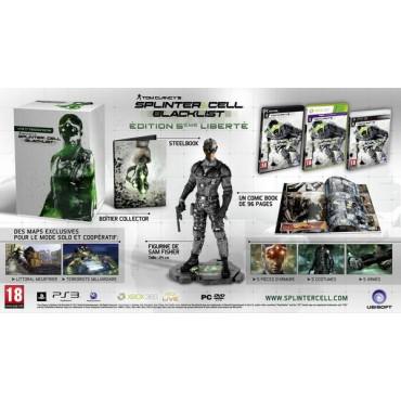Edition Collector Splinter Cell Blacklist 5ème Liberté sur PS3