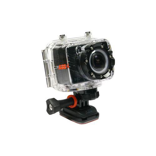 PNJ Cam AEE SD18 - Etanche 60m + Ecran LCD + Fixation Casque + Fixation 3M
