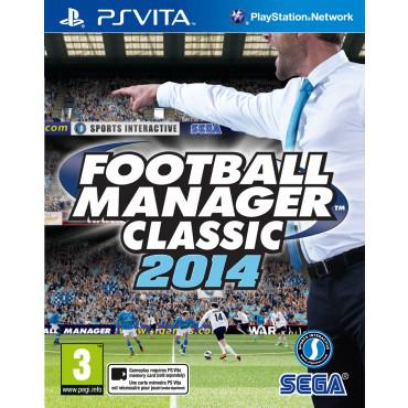 Jeu Football Manager Classic 2014 sur PS Vita