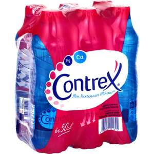 Lot de 2 packs d'eau Contrex
