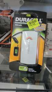 Chargeur Nomade USB Duracell 3h 1150 mAh