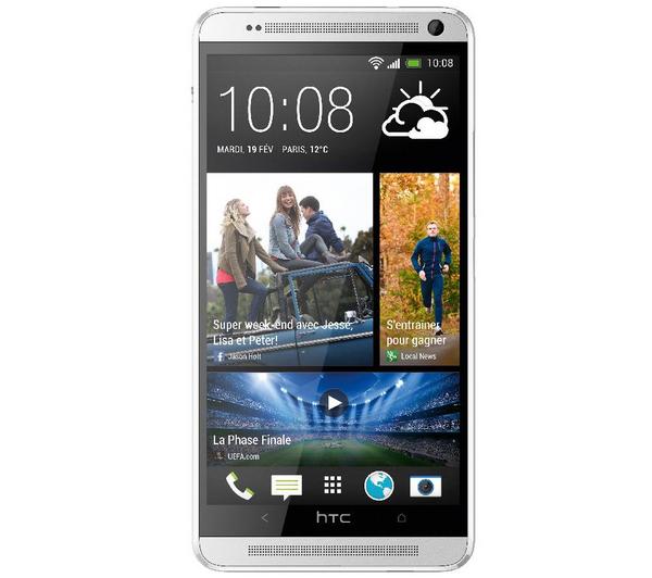 """Smartphone 5.9"""" HTC One Max 16 Go - Silver"""