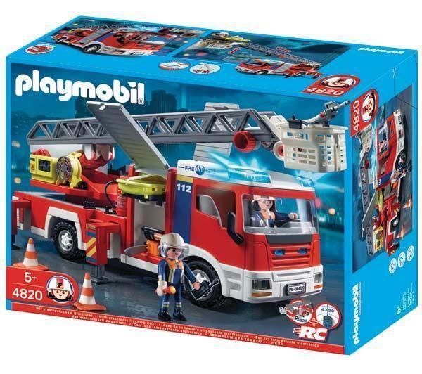 Playmobil 4820 - Camion de pompiers grande échelle