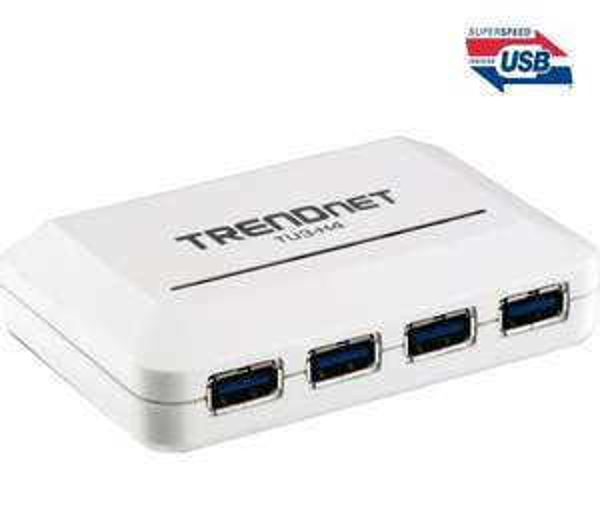 HUB USB 3.0 Trendnet TU3 H4