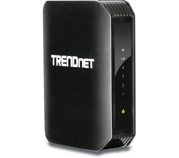 Pont média Trendnet TEW-800MB WiFi 802.11AC Dual Band + commutateur 4 ports