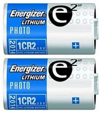 6 packs Energizer 2 piles CR-2 800 mAh