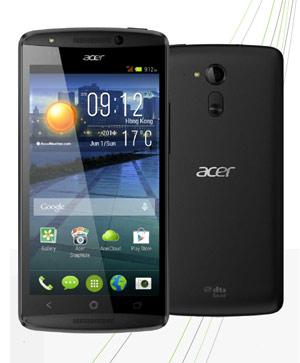 Smartphone Acer Liquid e700 triple carte sim
