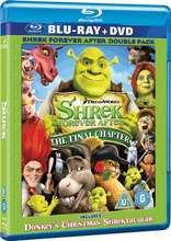 Blu-ray Shrek 4, il était une fin - Double Play (blu-ray + dvd)