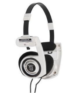 Casque portable stéréo iPortapro blanc