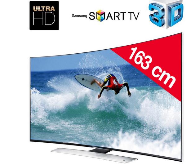 """TV 65"""" incurvée Samsung  UE65HU8500 UHD 4k"""