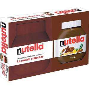 Le coffret Nutella (livre des meilleures recettes + moule collector Véronique Cauvin)