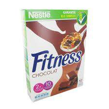 2 boites  de Céréales Fitness Nestlé chocolat
