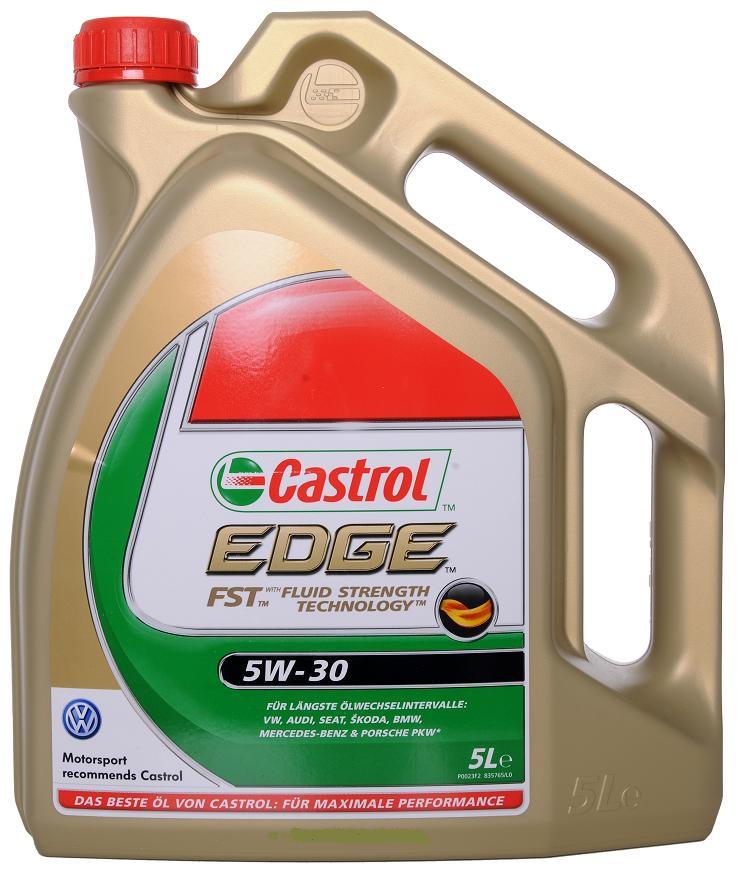 Huile Castrol Edge FST 5W30  (Frais de port : 13.90€)