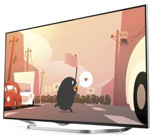 "TV LED UHD 4K 55"" LG 55UB850V 4K 3D 1000 HZ UCI Smart TV (Avec ODR de 200€)"