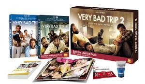 Very Bad Trip + Very Bad Trip 2 Coffret Combo Blu-Ray + DVD Prestige Limité Fnac