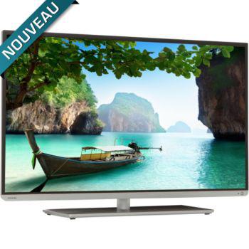 """Téléviseur LED 3D 40"""" Toshiba 40L5435DG 3D 400 Hz CMR Smart TV (Avec ODR de 50€)"""