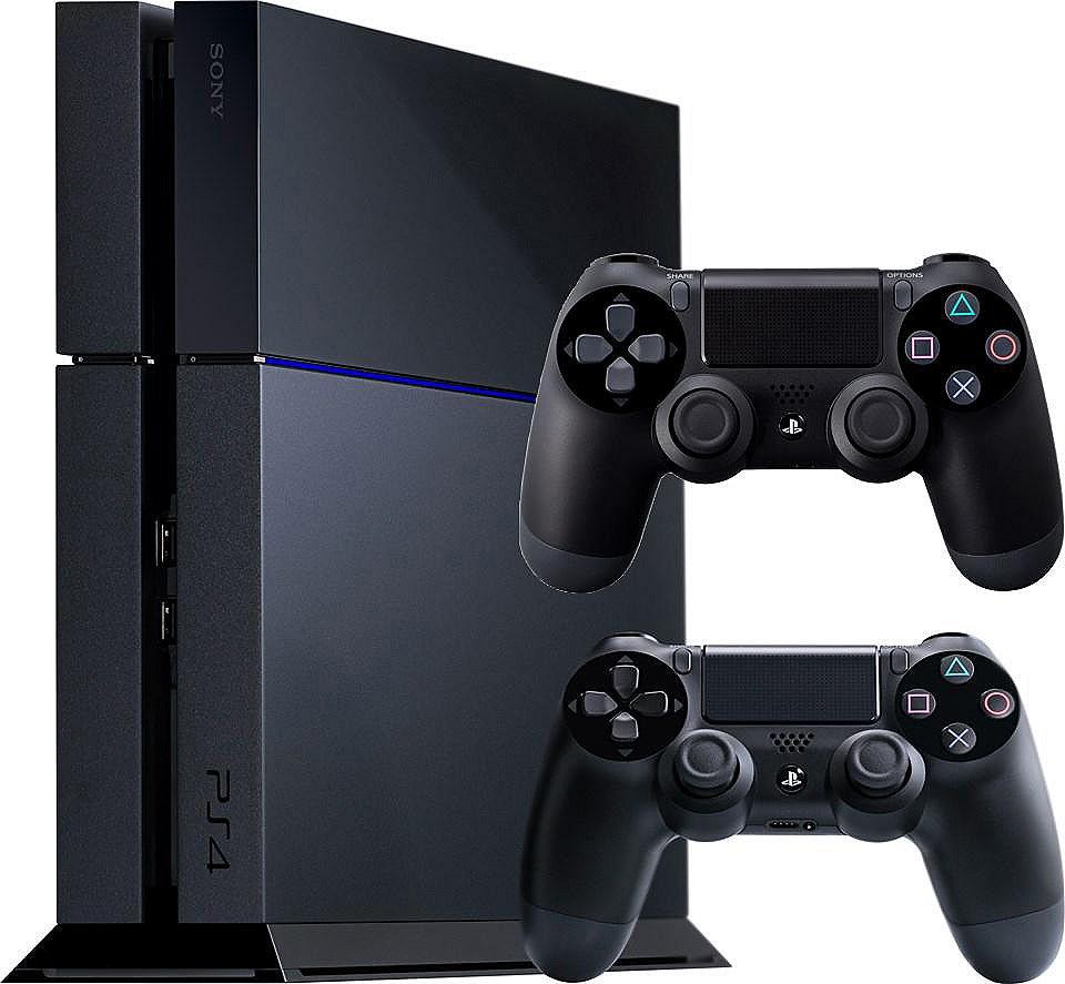 Console PlayStation 4 + Une manette Dualshock 4 supplémentaire