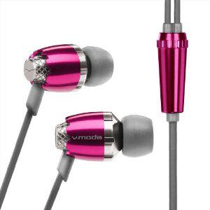 Écouteurs intra-auriculaires V-moda Remix Rose