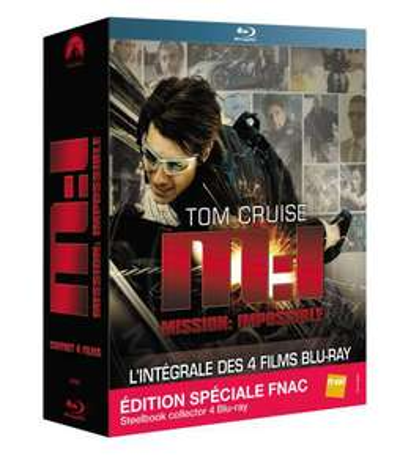 Coffret Blu-ray quadrilogie Mission: Impossible Steelbook