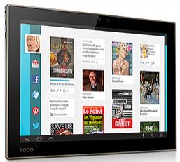"""Tablette 10"""" Kobo Arc 10HD - 16Go"""