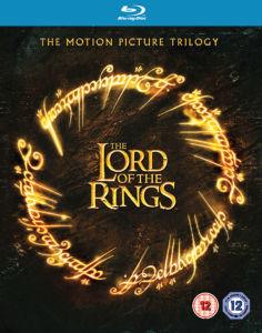 Coffret Blu-Ray Trilogie Le Seigneur des anneaux (uniquement en anglais)