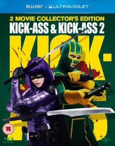 Coffret 2 Bluray Kick Ass 1 et 2