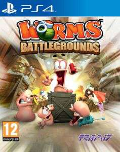 Worms: Battlegrounds sur PS4
