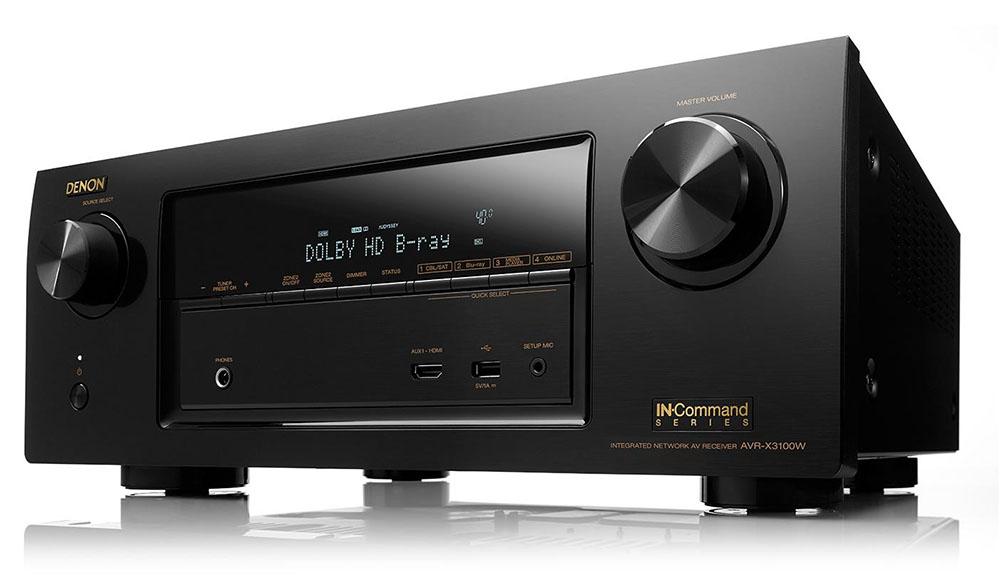 Ampli home cinéma Denon AVR-X3100W (2014) - Noir