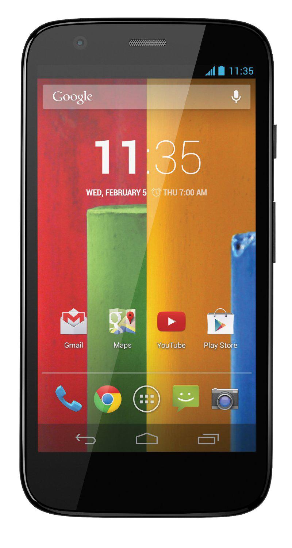 Smartphone Motorola Moto G 16Go noir