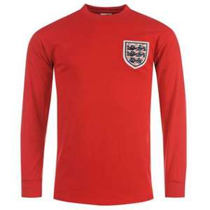 Maillot Angleterre vintage manches longues