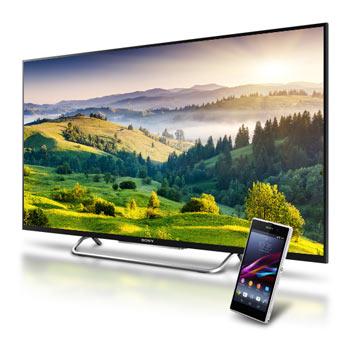 "Pack Téléviseur Sony TV LED 3D KDL55W805B 55"" 140 cm + Smartphone Sony Xperia Z ultra"