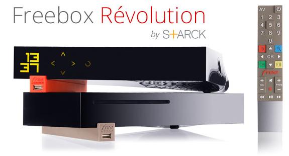 Abonnement mensuel Freebox Révolution pendant 1 an (Option TV incluse + BeIN Sports offert pendant 2 mois)