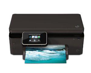 Imprimante jet d'encre multifonction couleur 12 ppm Noir HP Photosmart 6520