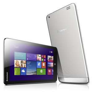 "Tablette 8"" Lenovo IdeaTab Miix 2 32Go - WiFi - Windows 8.1 - Argent"