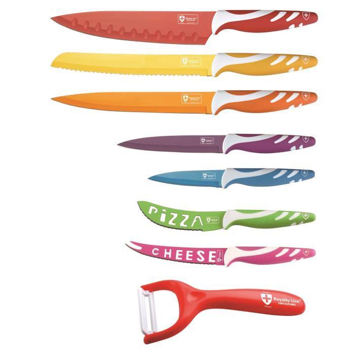 Set de 8 Couteaux - Royalty Line