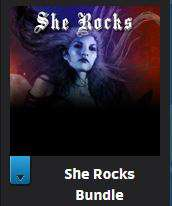 She Rocks Bundle - 7 albums féminins + 4 albums bonus à débloquer