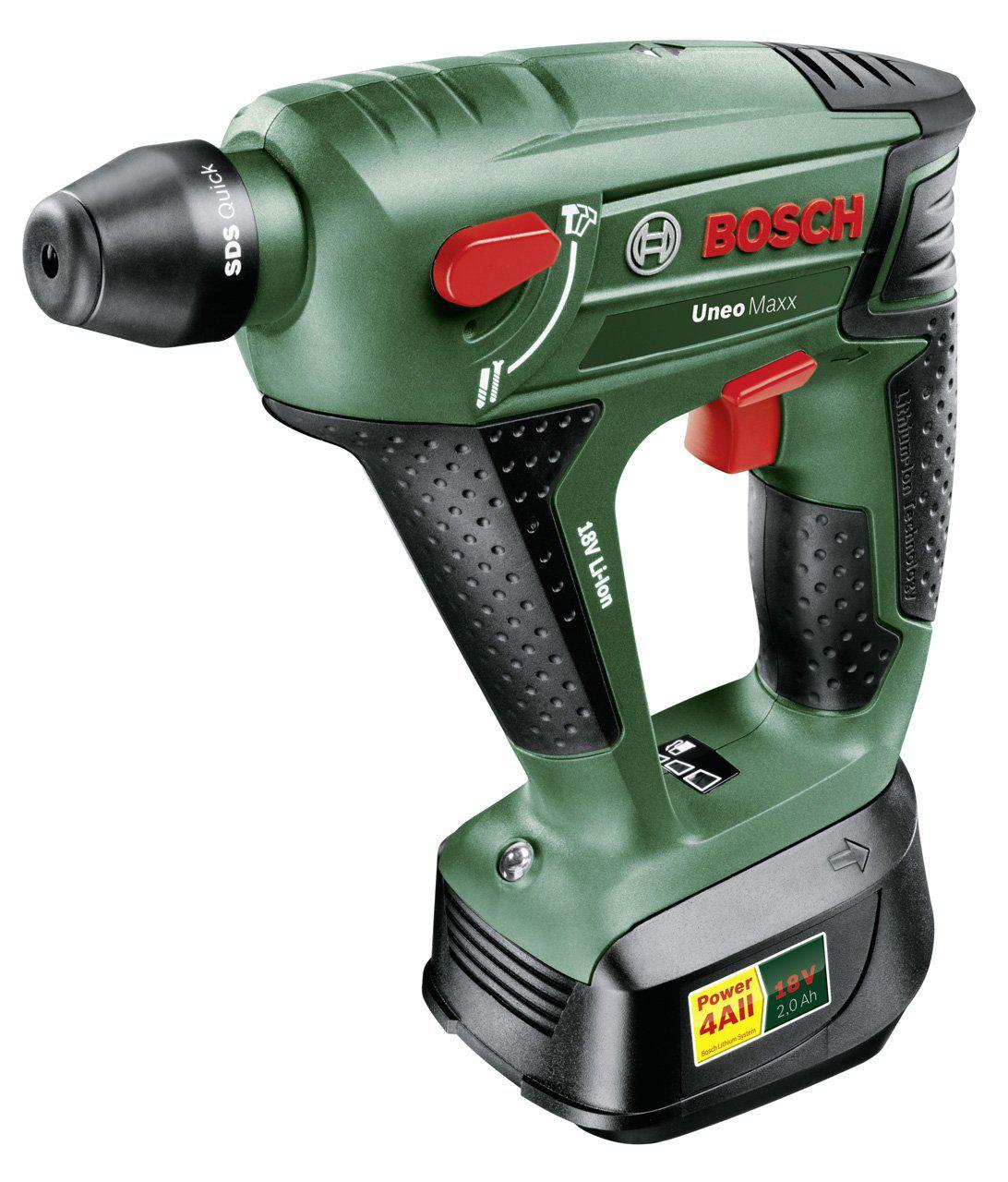 """Perforateur """"Expert"""" sans fil Bosch Uneo Maxx avec coffret, batterie et chargeur"""