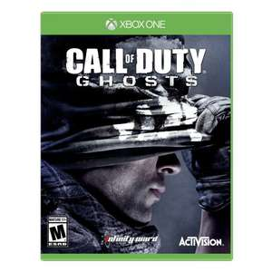 Jeu Xbox One Call of Duty Ghosts