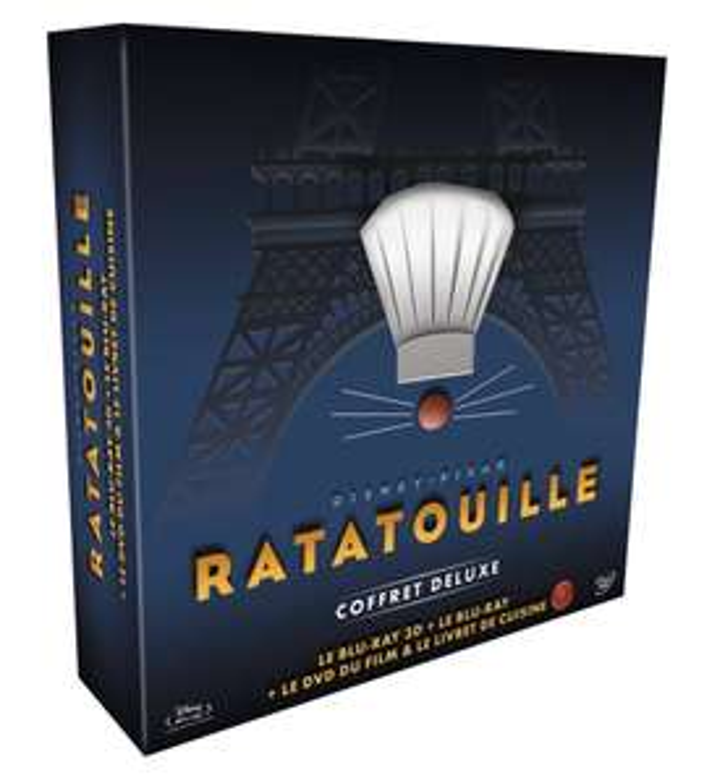 Précommande : Coffret Collector Ratatouille Blu-ray 3D + Blu-ray + DVD + Livre de recettes