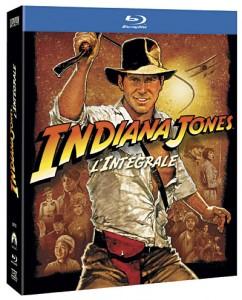 Blu-ray intégrale Indiana Jones 49,90 avec 20€ en chèques cadeau offert