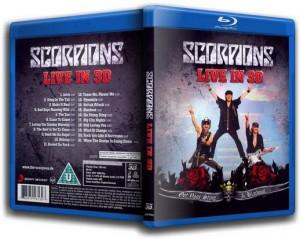 Blu-ray Scorpions Live in 3D
