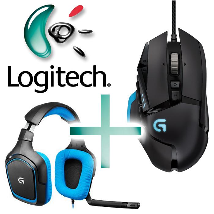 50% de réduction sur l'article le moins cher lors de l'achat de 2 produits Logitech Gaming