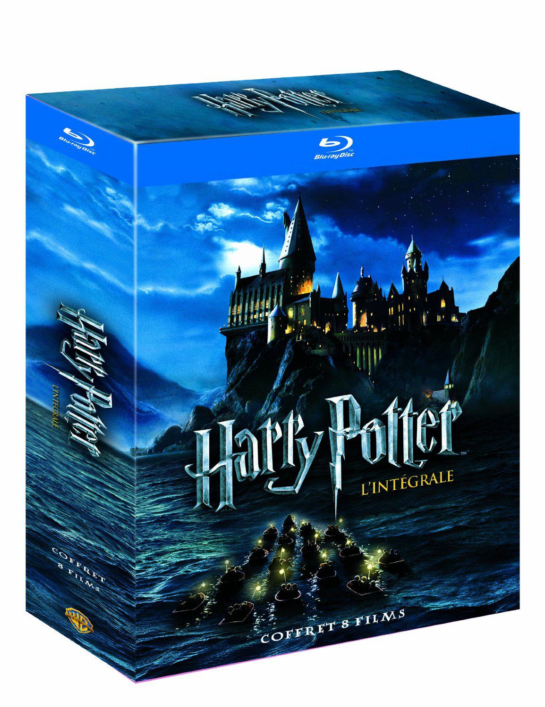 Coffret Blu-Ray intégrale Harry Potter