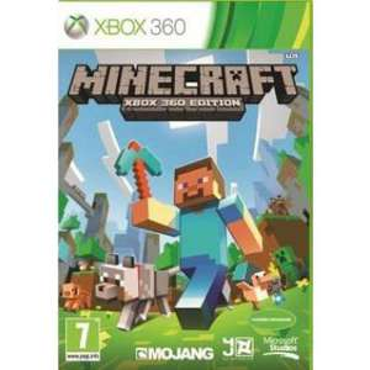 Minecraft version boite Xbox 360