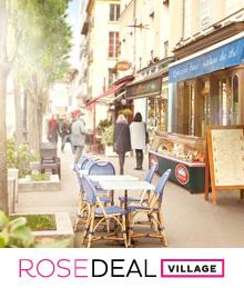 Rosedeal Village Versailles : -50% à -70% dans 16 magasins - Ex : dépensez 100€ chez Speedy