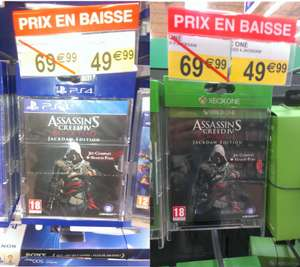 Assassin's Creed 4 Black Flag Jackdaw Edition PS4 / Xbox One